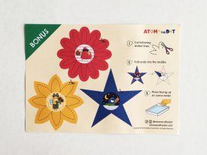 Bonus Blooming Paper Flowers Atom The Dot