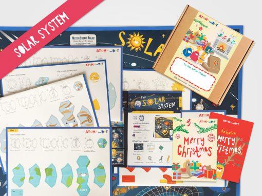 Solar System Christmas Box