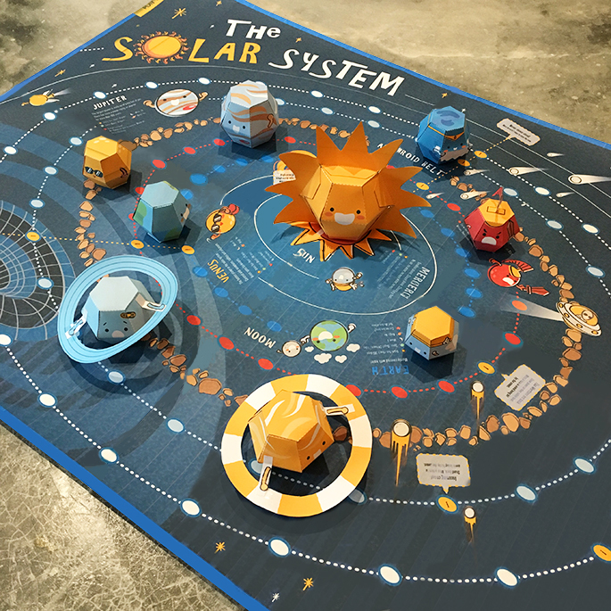 3D Solar System Game