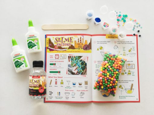 Materials to make slime