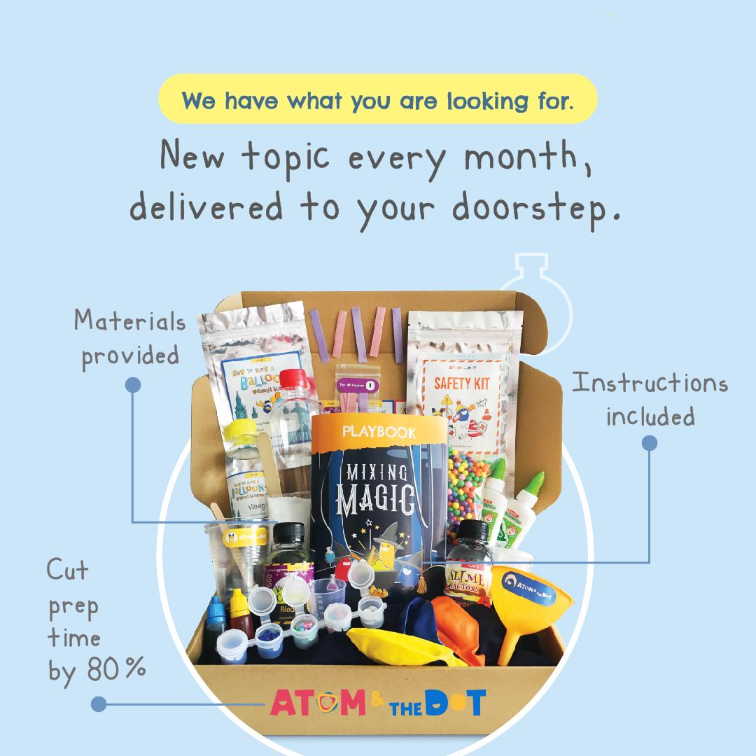 Art-Science-kids-activity-box